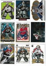 LOT OF UPPER DECK PACIFIC PATRICK ROY INSERTS BASE UD AVALANCHE CANADIENS