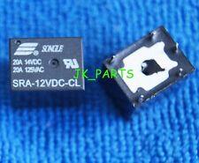 10pcs New SRA-12VDC-CL DC 12V Coil 20A PCB General Purpose Relay 5 Pins SPDT