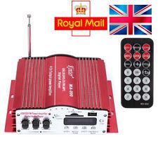 UK Stock Kinter MA200 4CH 12V Mini HiFi Car Amplifier Stereo USB/FM/SD/DVD
