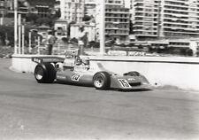 Pescarolo. BRM P201. F1 GP Monaco 1974. Photo M287