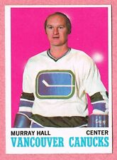 1970-71 70-71 O-PEE-CHEE OPC #118 Murray Hall SET BREAK (2)
