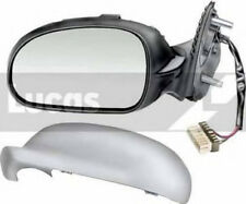 Peugeot 406 Nearside Passenger LH Mirror Electric Heater Primed Cover New