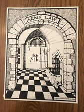 RARE & VG+! ARMS LAW (1982 Judges Guild) 2nd Edition No tables