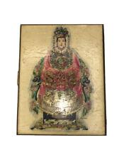 Vintage Asian Metal Cigarette Case