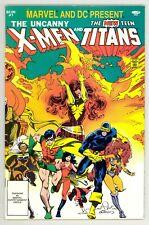 Marvel And DC Present X-Men And New Teen Titans (1982) #1 1st Prt Phoenix VF/NM