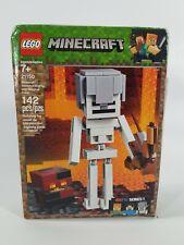 Lego Minecraft 21150 Skeleton Big Fig with Magma Cube 142pcs New
