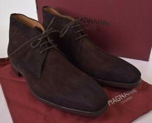 Magnanni Diversa Chukka Boots Size 42.5 9.5 M Mundo Brown Suede $375