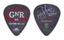Guns N' Roses DJ Ashba Signature Black Guitar Pick - 2011 Tour GNR