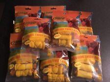 40 x Munch & Crunch CHICKEN RAW HIDE DOG CHEW TREAT ROLLS (8x5 pack)....