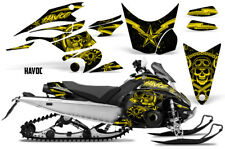 Yamaha FX Nytro Decal Graphic Kit Sled Snowmobile Wrap Decals 2008-2014 HAVOC Y