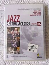 JAZZ ON THE LIVE SIDE-VOL. 2 - DVD, REGION-ALL, BRAND NEW FREE POST IN AUSTRALIA