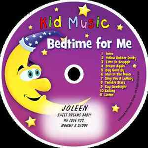 ~eBay~Bedtime for Me Personalized Kids Lullaby Music CD