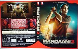 MARDAANI 2 - YRF BOLLYWOOD DVD - Rani Mukerji, Vishal Jethwal.