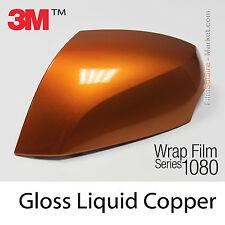 10x20cm LÁMINA Brillante Liquido Cobre 3M 1080 G344 Vinilo CUBIERTA Series