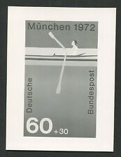 BRD FOTO-ESSAY OLYMPIA 1972 RUDERN OLYMPICS PHOTO-ESSAY PROOF e220