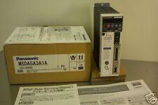 PANASONIC MODEL MSDA5A3A1A AC SERVO DRIVER NEW CONDITION IN BOX