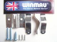 WINMAU DARTBOARD FIXING KIT WALL BRACKET HANGER NEW WITH INSTRUCTIONS & FIXINGS