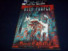 1998 OCT 18 DEEP PURPLE TOUR BOOK - WITH TICKET STUB - UK - II 7641