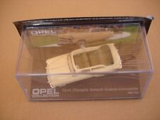 Miniature Opel Collection : Opel Olympia Rekord Cabrio Limousine - Altaya (Neuf)