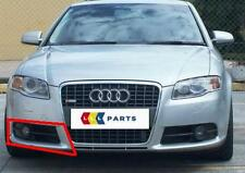 AUDI A4 B7 05-08 NEW GENUINE S LINE BUMPER O/S RIGHT FOG OPEN GRILL 8E0807682F