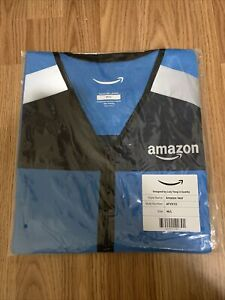 Blue Amazon DSP Delivery Driver Flex Vest Reflective Brand New XL Extra Large