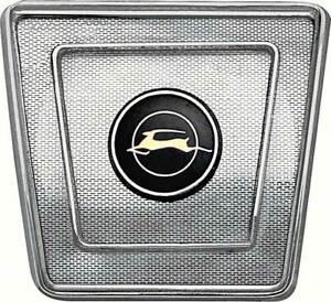 OER 4476574 1965-1967 Chevrolet Impala Rear Seat Speaker Grill with Logo
