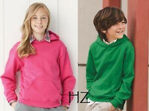 JERZEES NuBlend Youth Boys or Girls Hooded Sweatshirt 996YR - S-XL - Hoodie