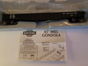 Athearn Ready to Roll Batimore &Ohio 65' Mill Gondola 450276