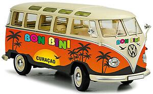 VW Volkswagen T1 Bulli Samba Bus Microbus Deluxe 1951-67 Bon Bini Curaçao 1:43