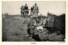 1914 Ostpreußen * Kämpfe bei Lyck * Feldwache *  WW1