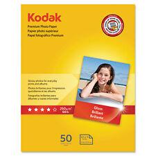 Kodak Premium Photo Paper 8.5 mil Glossy 8 1/2 x 11 50 Sheets/Pack 8360513