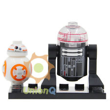 BB8 and R2-D2 Star Wars Minifigures Compatible With Lego