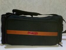 Large Pullman Camera Bag With Four Compartments & Shoulder Strap camcorder