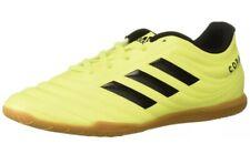 Adidas Copa 19.4 Indoor Soccer Shoe Mens Size 11.5 Solar Yellow/Black-Gum F35487