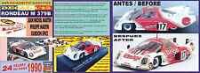 ANEXO Décalque 1/43 RONDEAU M 379b Martin/Martin/Spice Le Mans 1980 (05)
