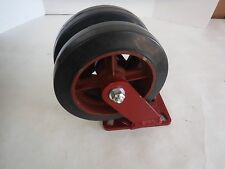 HAMILTON CASTER 500500 PLATE AND 8X2 DOUBLE WHEEL (J)