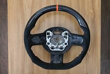 Mini Cooper S R56 R61 JCW Flat Bottom Steering Wheel Alcantara Carbon Fiber