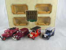 Lledo regalo 4 Pezzi Set Chevrolet, Ford, Morris, NESTLE, Rowntrees & sarsons