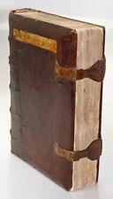 INKUNABEL MEFFRET SERMONES EINBAND SPÄTGOTISCH INITIALEN BASEL KESSLER 1486