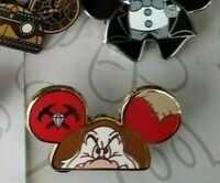 Grumpy Character Earhat Mystery Pack Set Mickey Mouse Ears Hat Disney Pin