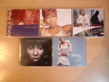 JOB LOT: Mary J Blige x5 CD singles pack inc. Family Affair, Seven Days