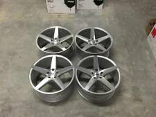 "20"" Veemann V-FS8 CONCAVE Wheels Silver Machined Audi A4 A6 A8 Mercedes E W212"
