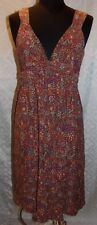 Patagonia Sun Dress Womens S Sleeveless Floral Print