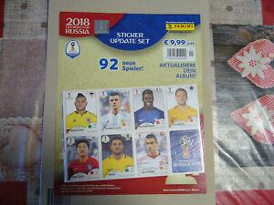 Panini WM 2018 Sticker Update Set 92 Sticker