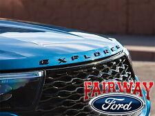2020 Explorer OEM Genuine Ford Sport Pkg Hood Emblem Letters Decal NEW