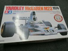 TAMIYA 1:12th big scale Yardley McLaren M23 1974 with photo-etched parts