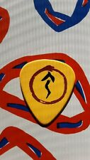 RUSH Geddy Lee 2007 Snakes & Arrows Tour guitar pick (yellow)