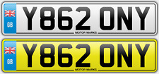 CHEAP NUMBER PLATE Y862 ONY - TONY BRONY RONY CHEAP BARGAIN Y862 ONY TONY NUMBER