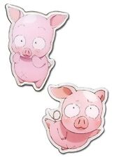 **Legit** Accel World Haru Pig Avatar Authentic Anime Metal Pin Set #50073