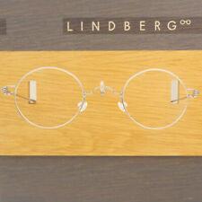 LINDBERG RIM TITANIUM CORONA 44 SILVER WIRE ROUND EYEGLASSES SPECTACLE FRAMES